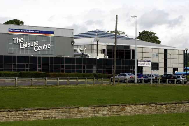 Keighley Leisure Centre.