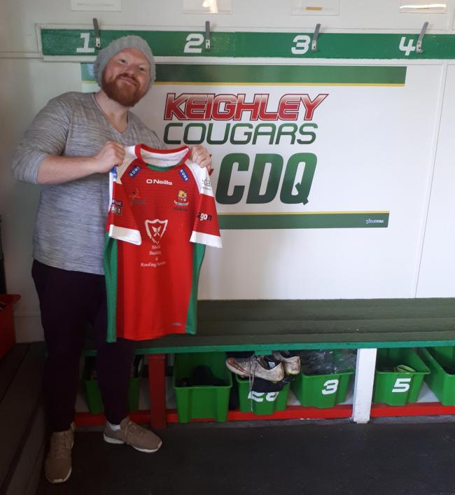 Dean Muir's Keighley Cougars Reserves lost 64-0 to Wakefield Trinity