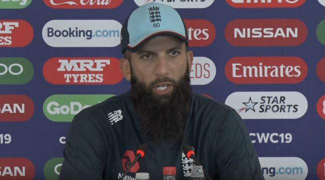 Moeen Ali will play his 100th ODI for England in their Cricket World Cup match with Sri Lanka on Friday (courtesy of ICC)