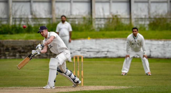 Middle-order batsman and captain Rob Hollingsworth (left) led Oakworth to Craven League glory this year Picture: Andy Garbutt