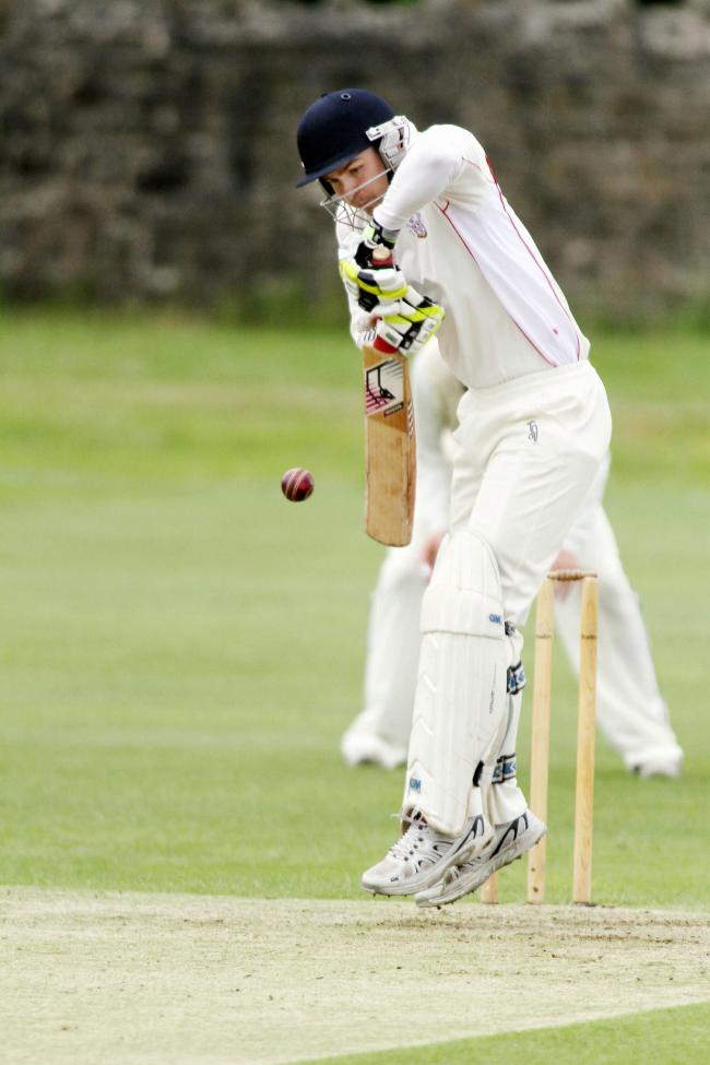 Steeton batsman Freddie Pearson had a knock of 75 on Saturday