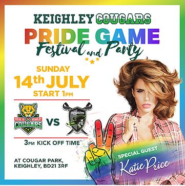Keighley Cougars PRIDE Game Festival & Party
