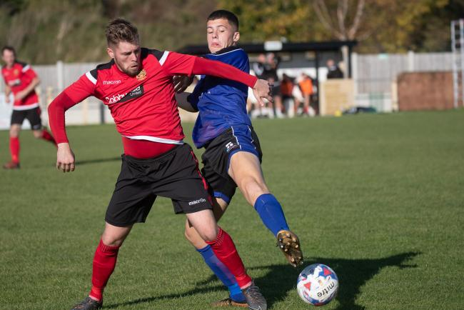 Aidan Kirby, left, is back for Silsden this season. Picture: David Brett