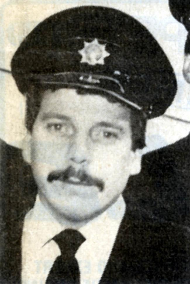 Fireman Jeff Naylor, who died while trying to rescue a family from house fire in 1983