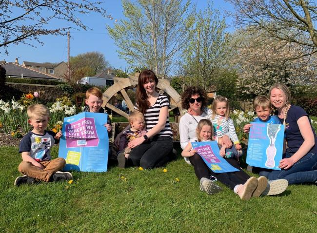 Members of Plastic Free East Morton