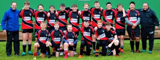 Keighley Albion Reds 13s line up after taking Division Six by storm