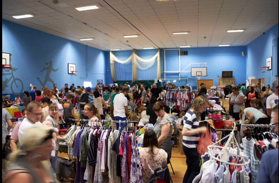 HARROGATE Mum2Mum Market Nearly New Baby/kids Sale Sun 5th July 2-4pm Rossett Sports Centre
