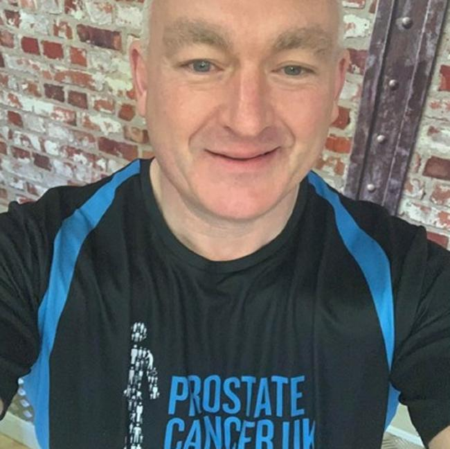 Cougars fan Keith Vear is doin a 26-mile walk in aid of Prostate Cancer UK