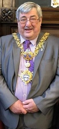 Town mayor Councillor Peter Corkindale