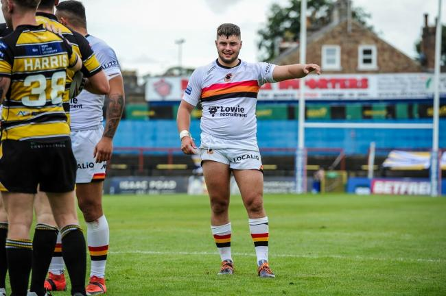 Matty Storton says he's buzzing after moving to0 Hull Kingston Rovers from Bradford Bulls. Picture: Tom Pearson