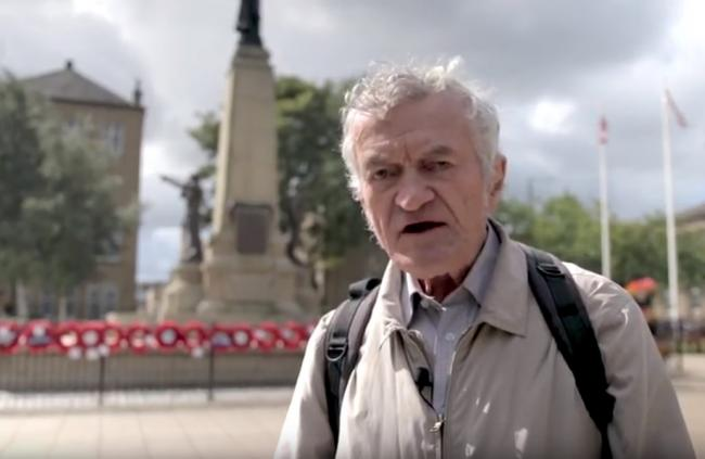 Ian Dewhirst, in Town Hall Square