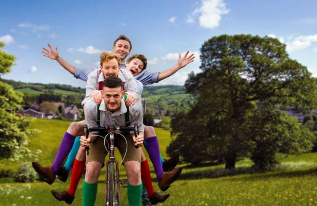 The Handlebards will perform Much Ado About Nothing