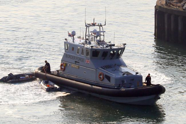 Border Force vessel returns