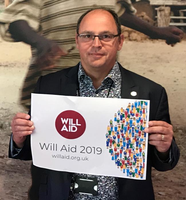 Will Aid chairman, Jon Jacques