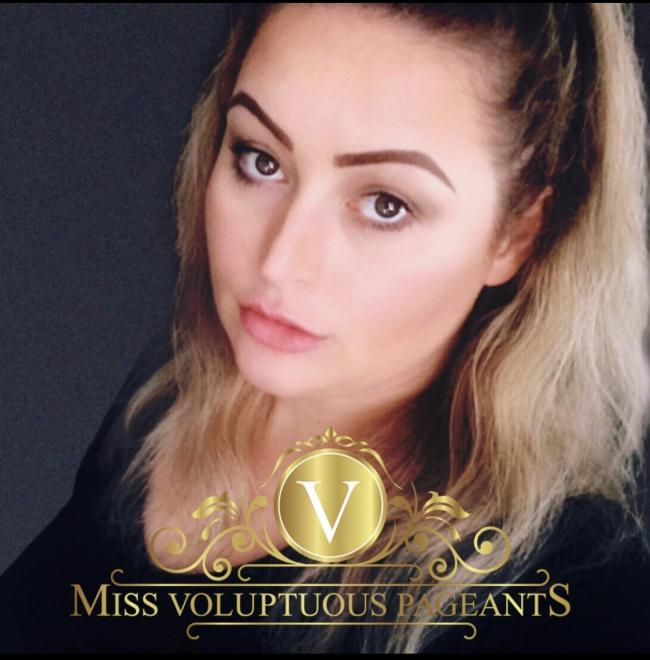 Amy Walker is a finalist in the Miss Voluptuous pageant