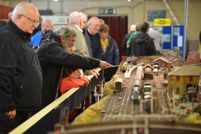 A previous Keighley Model Railway Club event