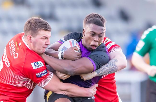 Mo Agoro has joined Keighley Cougars   Picture: swpix.com