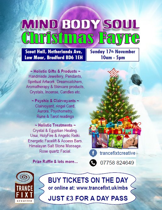 Mind Body Soul Christmas Fayre