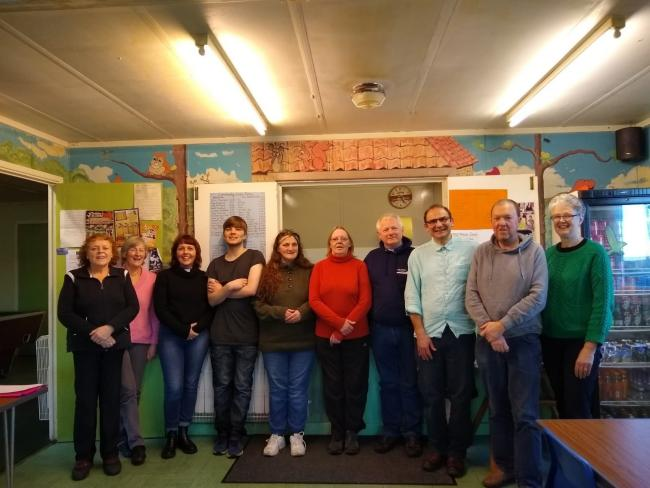 Participants on a life skills course run last year by Christians Against Poverty in Keighley.