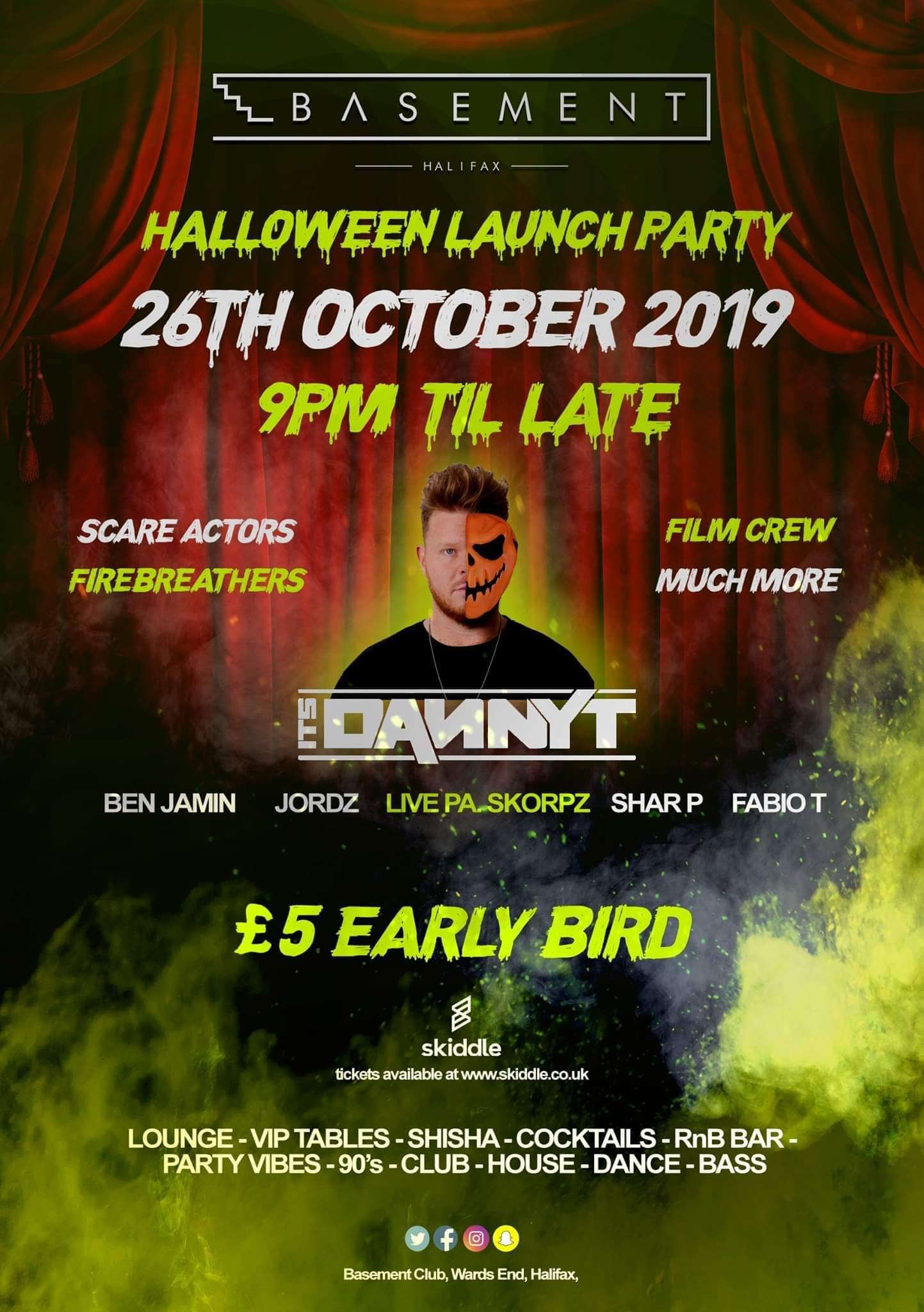 HALLOWEEN  LAUNCH  PARTY