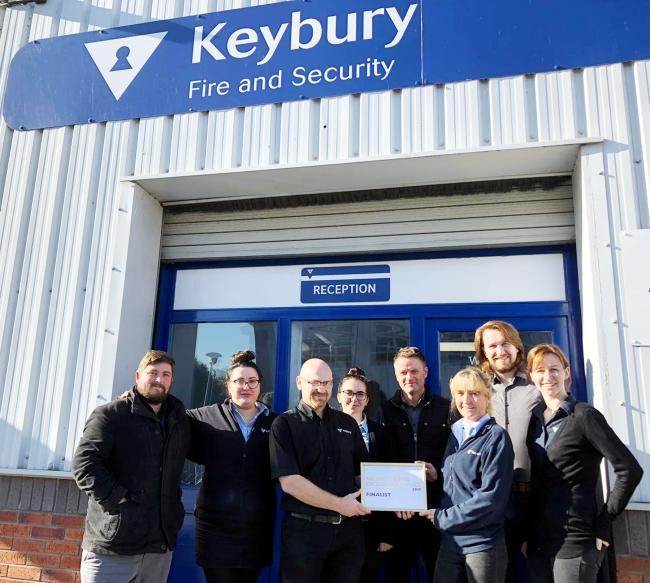 Keybury Fire and Security team