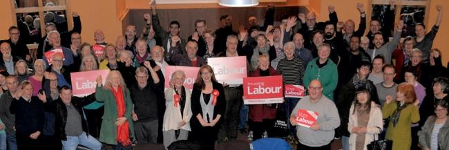 The launch of the Shipley Constituency Labour Party campaign for the General Election