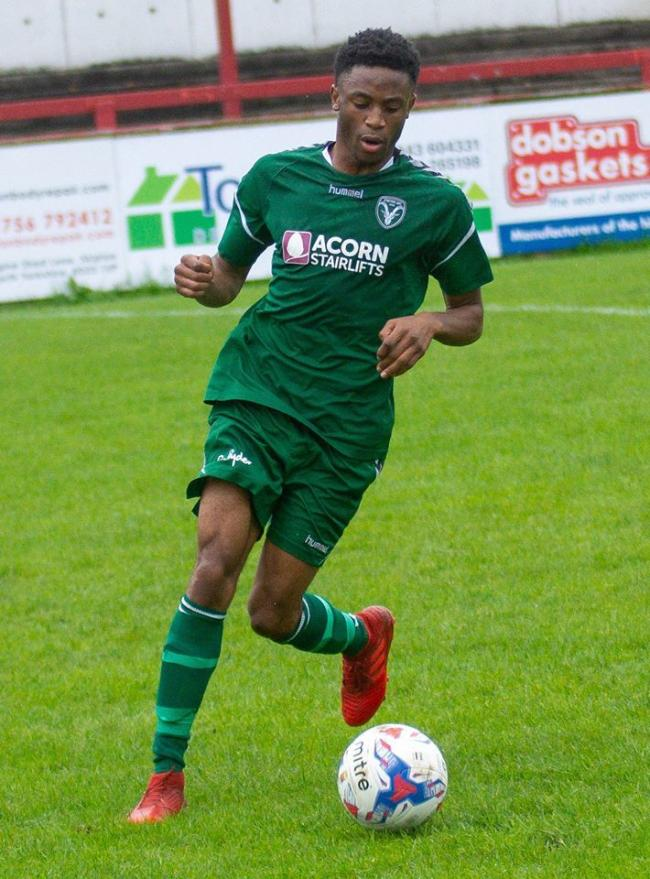 Tawonga Gumboh scored two consolation goals for Steeton