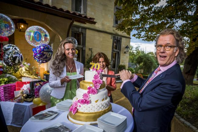 Andre Rieu and his family prepare for his 70th birthday concert. Picture by Marcel van Hoorn.