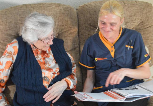 Care assistant jobs are being created