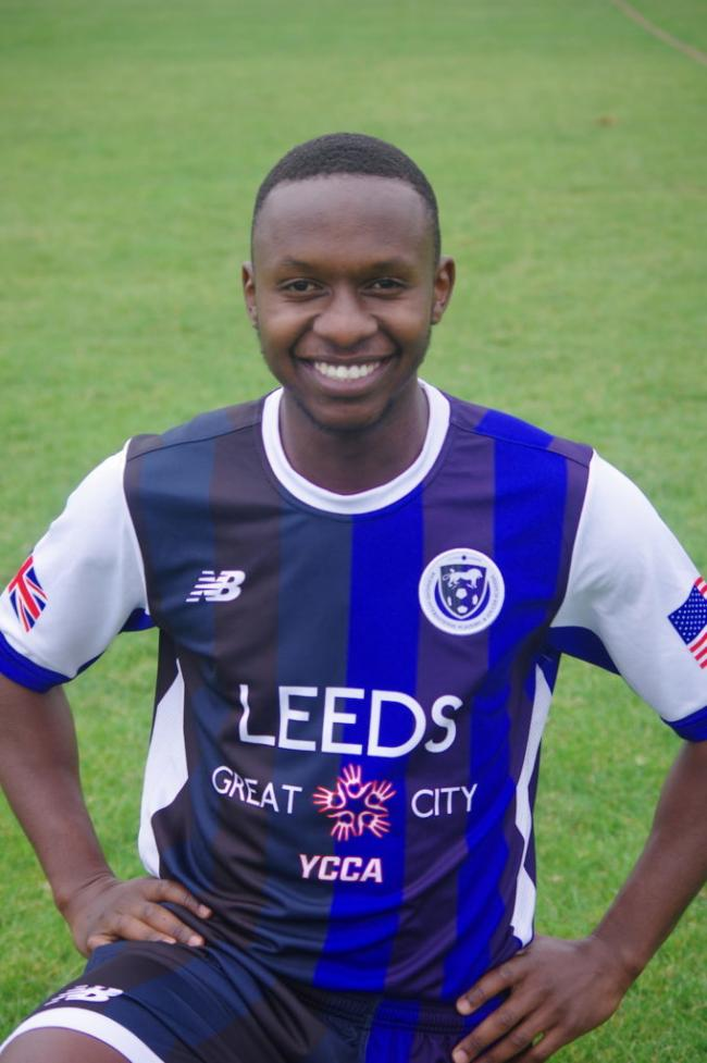 Immanuel Kinuthia was signed from RIASA on Friday