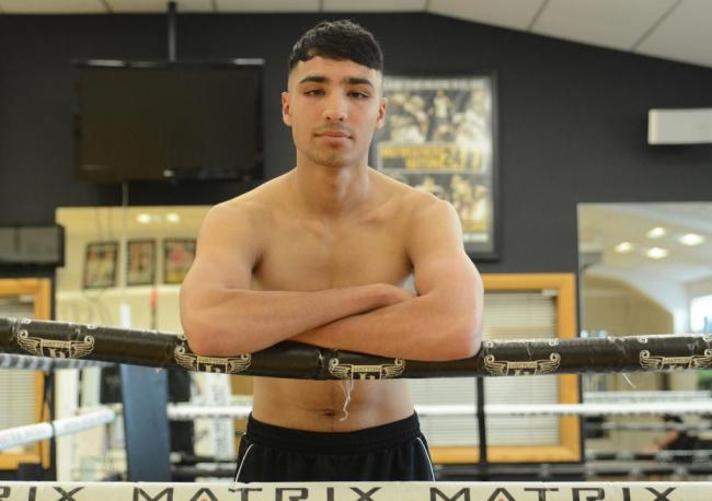 Ibrahim Nadim is following in the footsteps of cousin Muhammad Ali who recently turned over as a pro