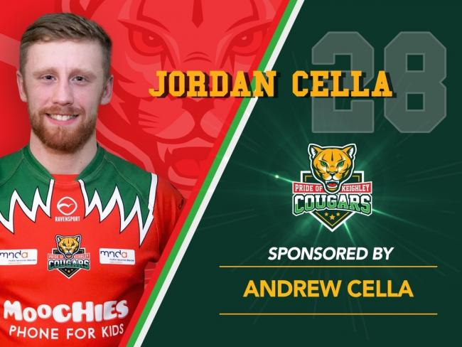 Jordan Cella was a key figure in Keighley's reserve side last year Picture: @Cougarmania