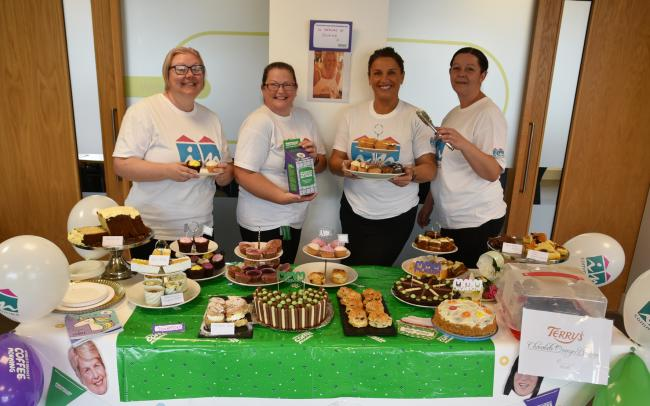 Incommunities 'star bakers' support the Macmillan World's Biggest Coffee Morning