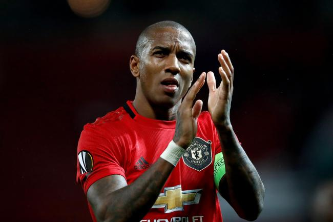 Ashley Young has left Manchester United for Inter Milan