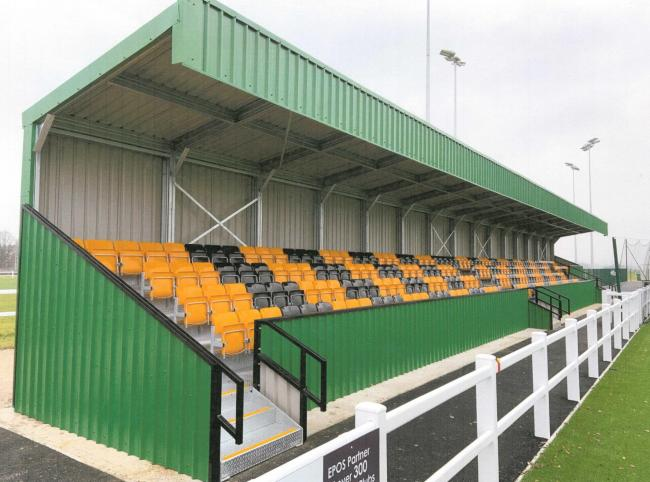 A similar stand to this is what Silsden are going for after they received a £100,000 grant from the FA