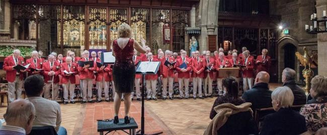 A recent Steeton Male Voice Choir concert