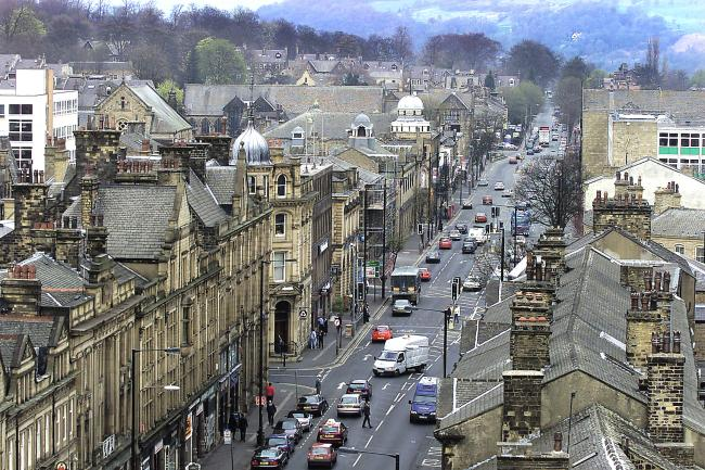 Keighley town centre