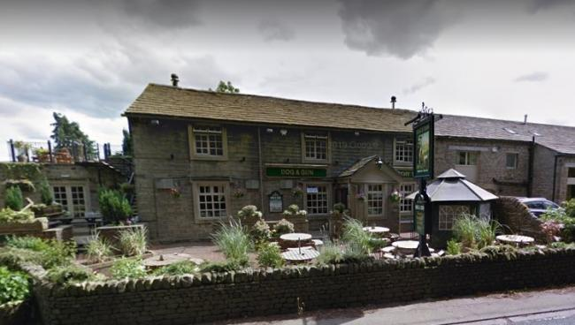 The Dog and Gun at Glusburn. Picture by Google Street View