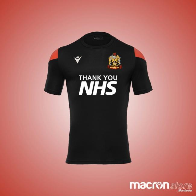 Silsden have created this 'Thank You NHS' shirt Pic @SilsdenAFC