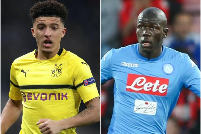 Jadon Sancho and Kalidou Koulibaly are Manchester United targets.