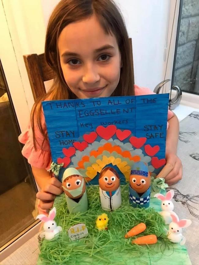 Lily Finnett of Eldwick won the Modality colouring competition