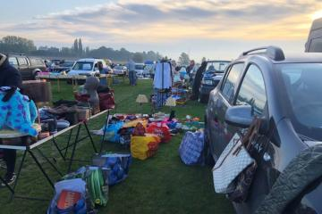 Lees cum Cross Roads Village Association car boot sale