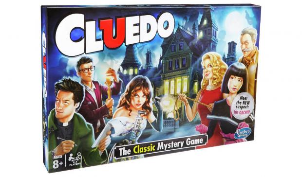 Keighley News: Cluedo board game. Picture: Hasbro Gaming