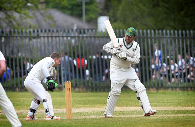 Dominic Bennett batting for Crossflatts' Saturday team, who will also be in unfamiliar territory next season, when they join the Bradford Premier League Picture: Anthony McMillan