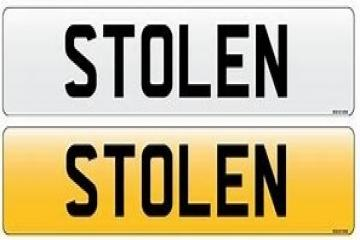 Number plate thieves strike again in Keighley