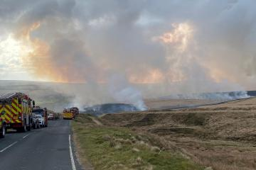 Plea to public in bid to prevent moor and countryside fires
