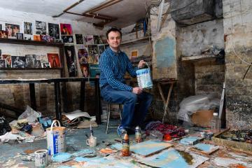 Solo exhibition for Keighley artist Ben Snowden