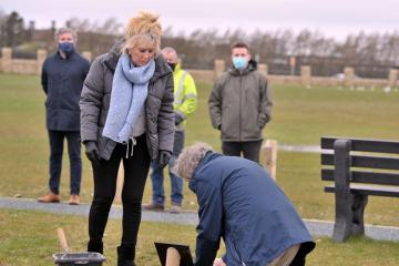 New £1m-plus cemetery opens near Keighley Tarn