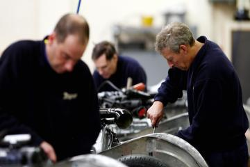 A positive outlook for region's manufacturing firms, according to survey