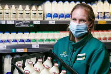 Supermarket giant Morrisons reintroduces milk in glass bottles